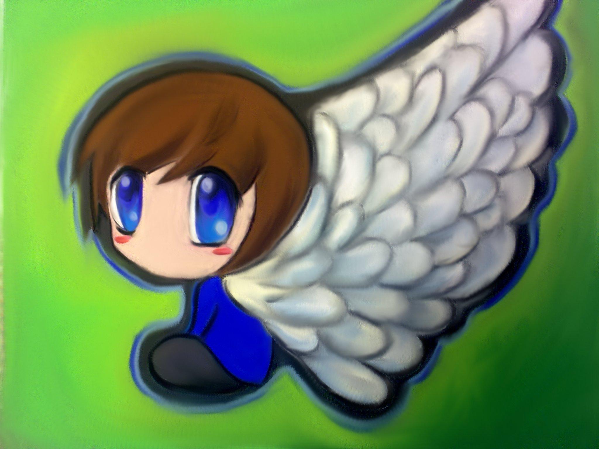 Angel Chibi By Animefan172 D37hwl5jpg